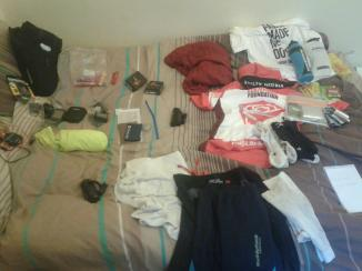 Travelling light for an endurance cycling trip
