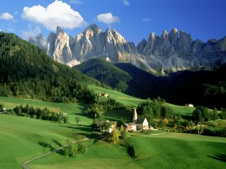 Dolomites in the Italian Alps. Don't worry they will be a cruel mistress.