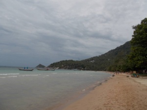 On our doorstep at Koh Tao