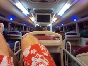 Bunk bed buses in Vietnam