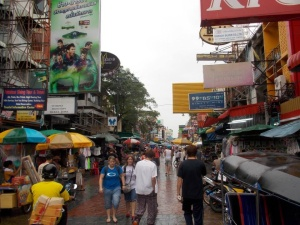 Khaosen Road....I was guilty of two helpings of KFC during my time in Bangkok!