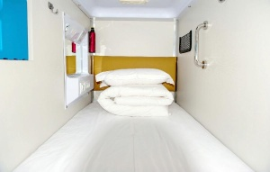 Capsule hotel - why would you need anything more?