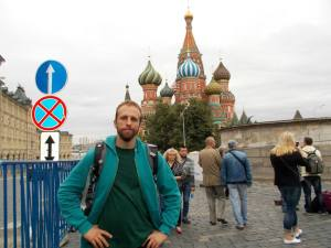 This is the tourist picture for Moscow right?
