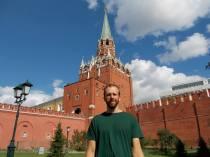 Sight-seeing at the Kremlin