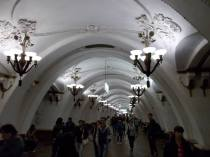 Grandeur of the Moscow subway - click picture for link to more pictures from a Business Insider article